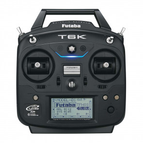 Futaba 6K 6-Channel Heli Radio System with R3006SB Receiver