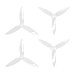 Gemfan 5152 - 3 Blade Propeller - Clear PC (Set of 4)