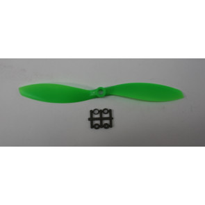 GEMFAN 9 x 4.7 Reverse ABS/Glass Fiber Propeller, Green