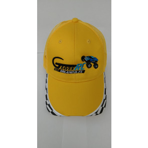 Graves RC Car Hat Yellow