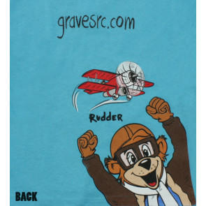 GRAVES RC HOBBIES Stick and Rudder Children's Shirt