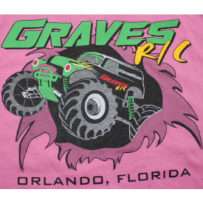Graves RC Hobbies Car T-Shirt, Pink