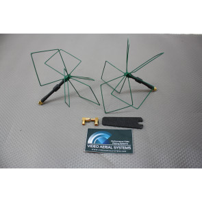 IBCrazy/Video Aerial Systems 1.3gHz Airblade Antenna Set, LHCP