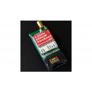 Immersion RC RaceBand 600mW, 5.8GHz, 15-Channel A/V Transmitter