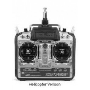 JR 7ch XP783 Helicopter Transmitter