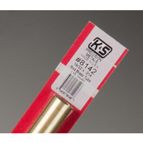 K&S Round Brass Tube 19/32""