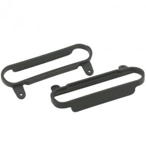RPM Nerf Bars Black Slash/Slash 4X4