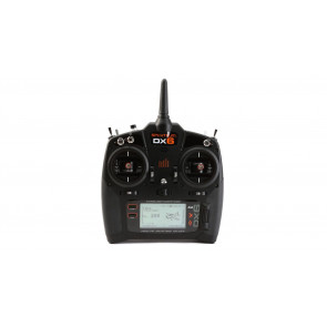 Spektrum DX6 6-Channel DSMX® Transmitter System, Mode 2 with Quad Racing Receiver