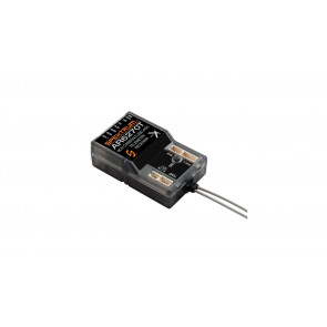 Spektrum AR6270T 6-Channel Carbon Fuse Integrated Telemetry Receiver