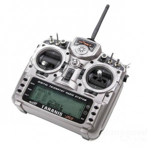 FrSky Taranis X9D PLUS 16CH Digital Telemetry Radio System, No Receiver, Aluminum Case