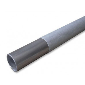 TOPMODEL Hard Aluminum Thin-walled Tube with Fiberglass 28mm O.D. x 1mm x 1meter