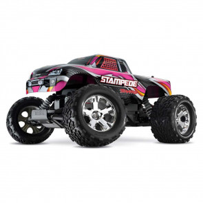 Traxxas 1/10 Stampede XL-5 TQ/iD/Battery/Charger Pink