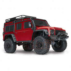 Traxxas TRX-4 CRAWLER W/ XL5 HV - Red