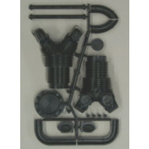 Williams Brothers GPW Wasp Cylinder Kit, 1/4 Scale