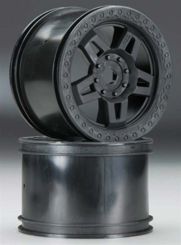 "Pro-Line Tech 5 3.8"" Black 2.75"" Wide Zero Offst 17mm Wheel"