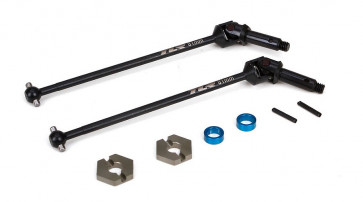 LOSI Front Driveshaft Assembly (2): 22-4