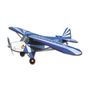 AIRBORNE MODELS CLIPPED WING CUB 1/6 SCALE, BLUE