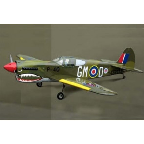 AirBorne Models P-40 Warhawk ARF with Retracts
