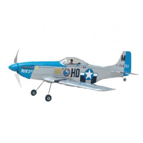 AIRBORNE MODELS P-51 EP SILVER ARF