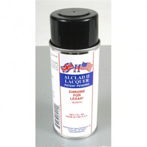 ALCLAD II LACQUERS Chrome for Lexan 3oz (aerosol)