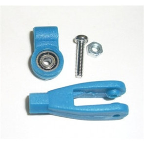 CENTRAL HOBBIES Ball Bearing Clevis 4-40