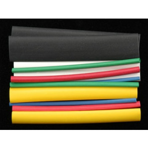 DUBRO HEAT SHRINK TUBING ASSORTED (12)
