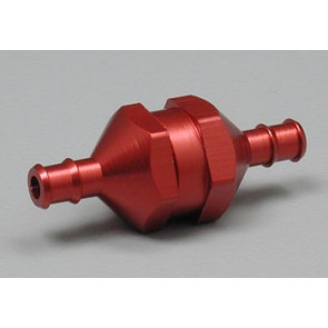Dubro In-Line Fuel Filter Red Medium