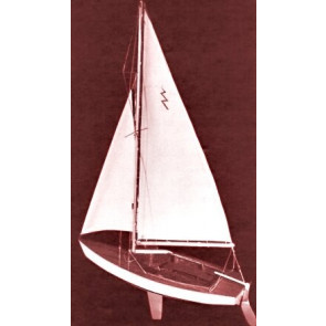 Dumas Lightning Sailboat Kit 19""