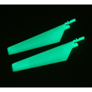 BLADE Lower Main Blade Set,Glow in the Dark (1 pr): BMCX