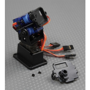 FATSHARK Pan/Tilt/Roll Camera Mount w/Servos