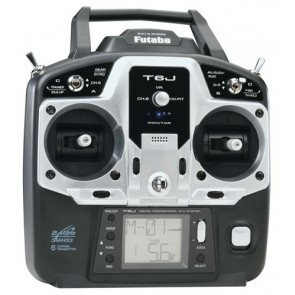 Futaba 6J 6-Channel 2.4GHz S-FHSS Radio System