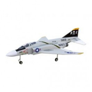 FlyFly Hobby F-4 Phantom Gray EPO Kit w/92mm Fan, Motor, Fixed Gear