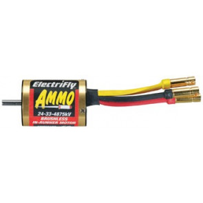 Great Planes Ammo 24-33-4875 In-Runner Brushless Motor