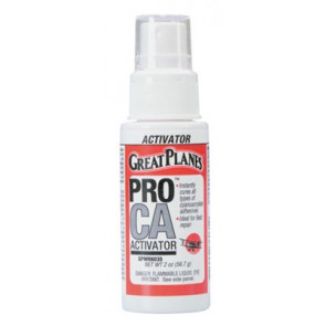 Great Planes Pro CA Foam Safe Activator w/Pump 2 oz