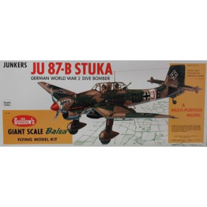 Guillows JU 87-B Stuka Model Kit