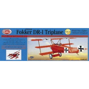 Guillows Fokker DR1 Triplane Laser Cut Model Kit