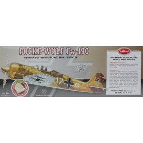 Guillows Focke-Wulf 190 Laser Cut Model Kit