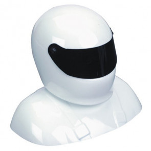 HANGER 9 25-28% Painted Pilot Helmet White