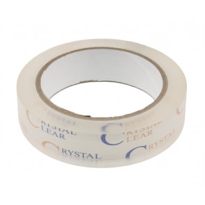 "CRYSTAL CLEAR HINGE TAPE 1"" X 72YARDS"