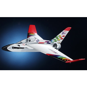 "SUPER FLYING MODELS ""Mini Bee"" Ducted Fan Profile RC Jet"