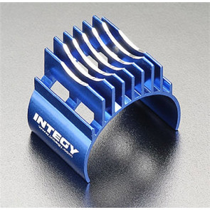 Integy Motor Heatsink Type II Wrap Around Blue