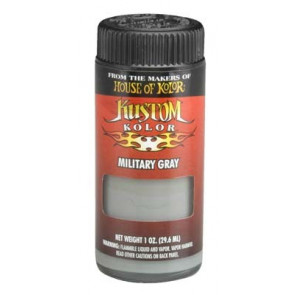 KUSR0118 KUSTOM KOLOR MILITARY GRAY - 1 OZ.