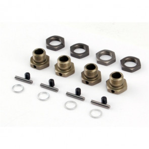 LOSI 17mm Hex Adapter Set (4) for LST2, MUG