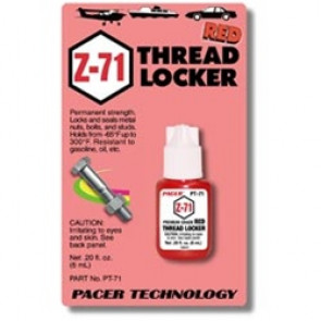 PAAPT71 PACER Z-71 Red Thread Lock .20 oz