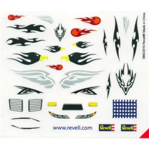 Revell Peel & Stick Decal Assortment #E (2 Sheets)