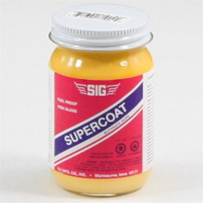 SIG SUPERCOAT LEMON YELLOW 4 OZ