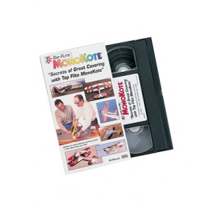 Top Flite MonoKote Covering Instructional VHS