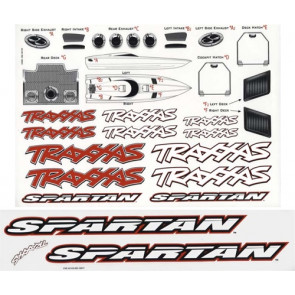 Traxxas Decal Sheet Spartan