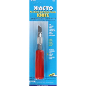 X-Acto #5 Heavy Duty Knife Carded