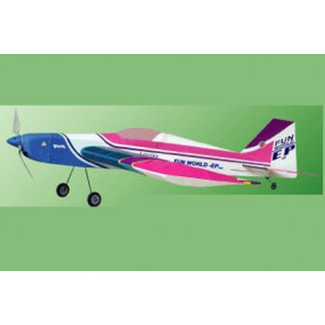 Airborne Models Fun World EP 400 ARF, Blue